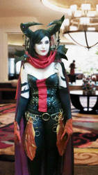 Cosplay- Drana, Kalastria Bloodchief- Worn3 by Cathartica