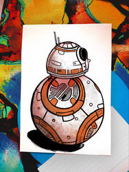 BB-8 from Star Wars by borkcoli