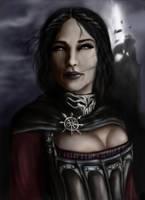 TES V: Skyrim - Serana by AndreCronos
