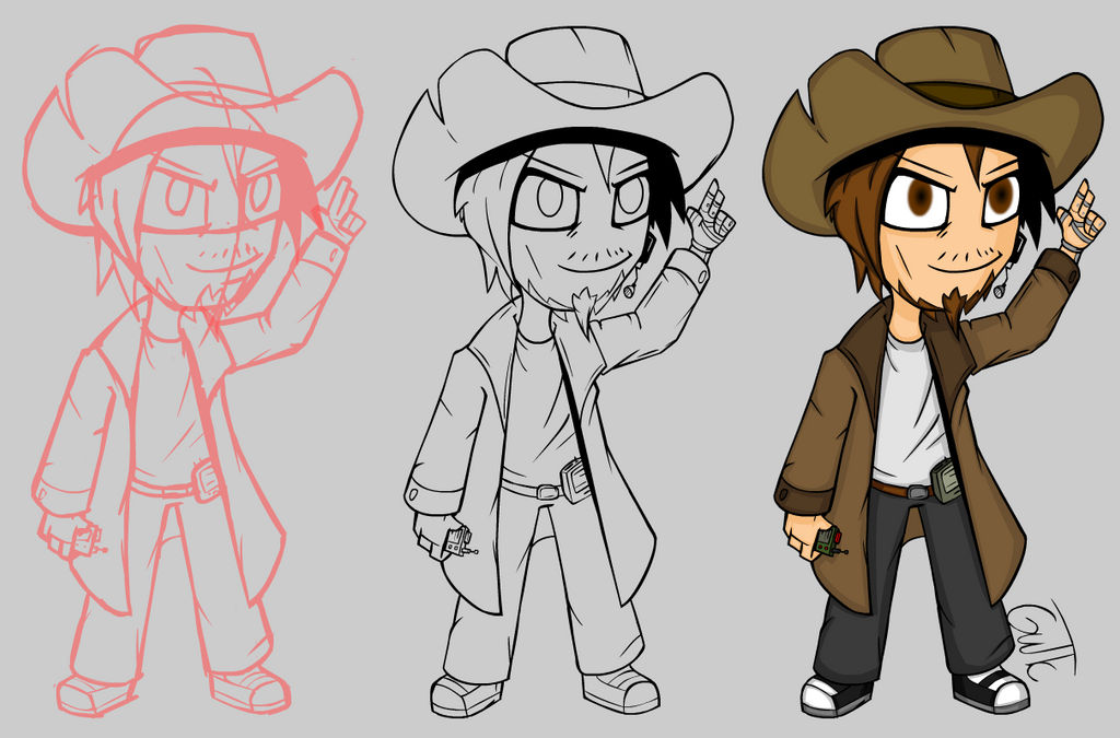 SS13 Chibi Charson Progress by GutTC