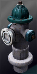 Hydrant Hi-poly by Tatored23