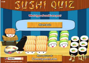 Sushi Quiz by Tatored23