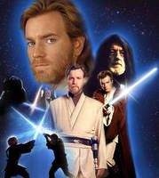 Obi-Wan Kenobi Poster by Taniadragon
