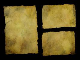 Torn Paper - Big Yellowed 3 by struckdumb