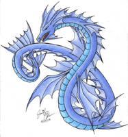 Water Dragon by SkyEmerald