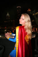Supergirl in the city by AlisaKiss