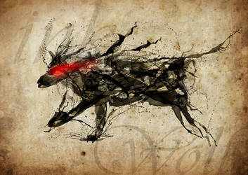 Wolf Ink by mateusorrico
