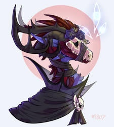 :Comm: Onyx Odyssey by DarkfallenDragon