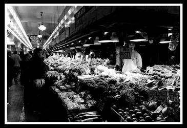 Pike Place Market by csselement
