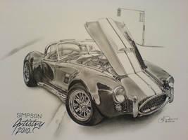 Shelby Cobra by SIMPSONARTISTRY