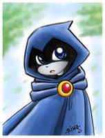 TT: quick pic of Raven by rinacat