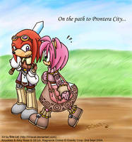 Amy Knux path to Prontera by rinacat
