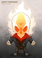 Ghost Rider by Greytonano