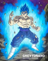 Ultra Blue Vegito by Greytonano