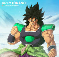 Broly by Greytonano