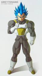 I'm Super Vegeta V1 by Greytonano