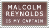 Malcolm Reynolds is my captain by mitchie-v