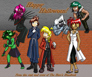 HHB FMA Halloween Color by HHB-BookMaster