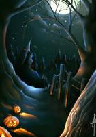 Happy Halloween by ObsidianGecko