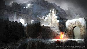 Dark Souls - Crown of the Ivory King ( Wallpaper ) by JanPhilippEckert