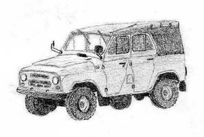 UAZ 469 by Lew-GTR