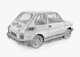 Polski Fiat 126p FL '91 by Lew-GTR