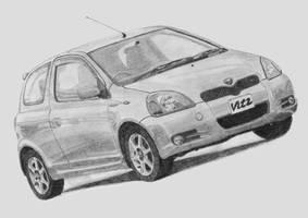 Toyota Vitz 1.5 RS by Lew-GTR