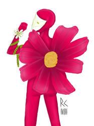 The pretty flower by Ravenclown13