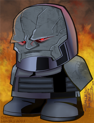 KidNotorious Lil Darkseid-col by ActorzInc
