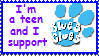 I Support Blue's Clues Stamp by akkigrl