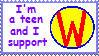 I Support Wonder Pets Stamp by akkigrl