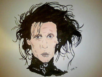 Edward ScissorHands by JonnyNova