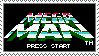 Mega Man Title Screen stamp by Leesie2k5