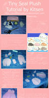 Tutorial: Tiny Seal Plush by KitsenAnyMury