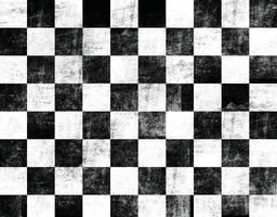 Black Rock Shooter checker pattern by NeoKyoStudio