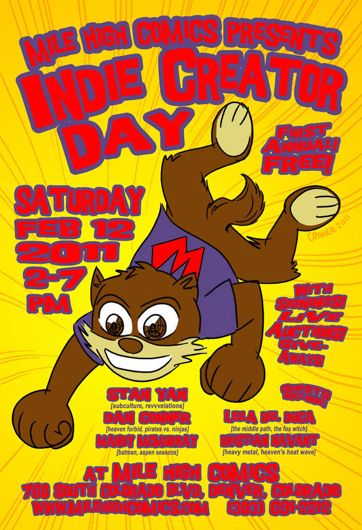 Indie Creator Day 2011 by holyd490