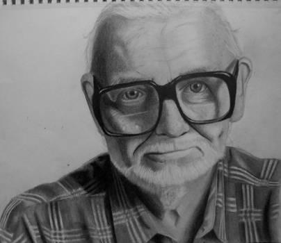 George Romero by Frankenska13