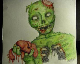 Zombie love by Frankenska13