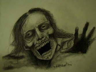 Zombie by Frankenska13