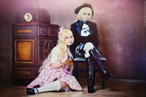 Lolita and Aristocrat by Zetsubou-Zetsu
