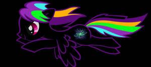 Dark Spectrum Pony by JJeds112
