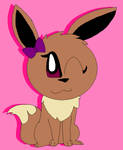 Lala the eevee by LisaDots123