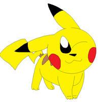 Pikachu by LisaDots123