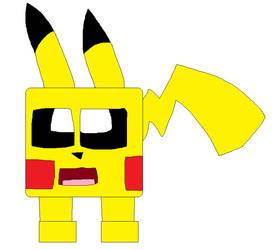 Cube Pikachu by LisaDots123