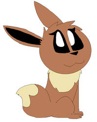 A female eevee by LisaDots123