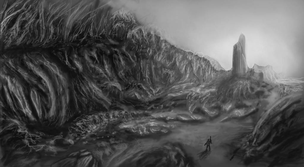 Gray landscape by sargeaxa