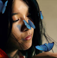 Blue words by tatitati