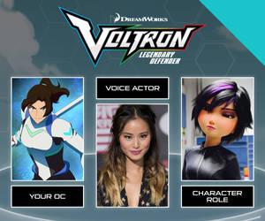 VLD OC Voice Actor Meme - Clara by DragonAnalei