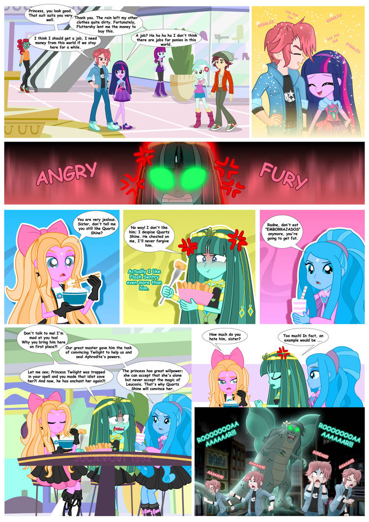 MLP_Comic_Twilight and Aphrodite's magic_05 by jucamovi1992