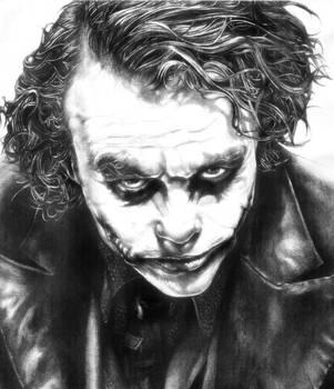 Heath Ledger's Joker by RobynTrower
